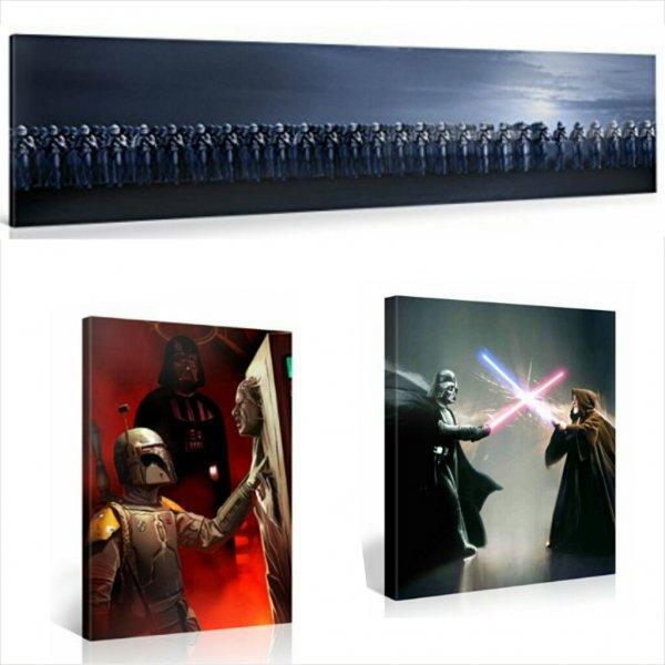[Amazon.de] Star Wars XXL Leinwanddruck Wandbilder - Original Lizenzprodukt - bis zu 83% Reduziert
