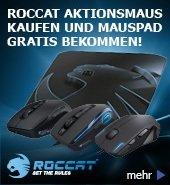 ROCCAT Raivo im Wert von 29,99 € gratis beim Kauf ausgewählter ROCCAT Mäuse @ Alternate