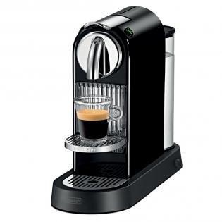 "[Redcoon Hot Deal] Ab 19.03..7.oo Uhr ""De'Longhi Nespresso Citiz EN 166.B Limousine Black + 100 Gratis Kapseln für 79,-€ VSK frei"