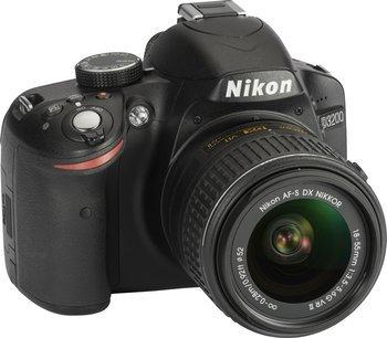 Euronics Ratingen - Nikon D 3200 Kit (18-55mm VR II) Digitale Spiegelreflexkamera schwarz für 299,- EUR