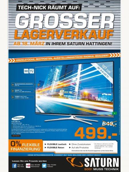 [Saturn Hattingen] Samsung UE50H6270 für 499,- EUR.