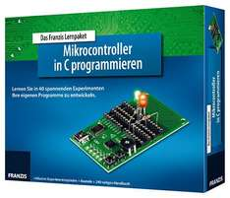 FRANZIS Lernpaket Mikrocontroller in C programmieren @ELV für 35,90€