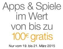 [Amazon][Android] Gratis-Apps des Tages: Apps im Wert von bis zu 100 EUR gratis