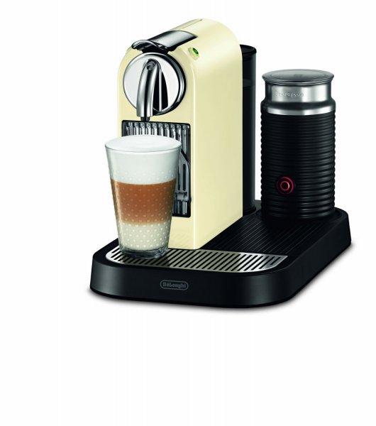 """DeLonghi™ - Kapselmaschine """"Nespresso Citiz&Milk (EN 266.CWAE)"""" (inkl.Milchaufschäumer und 200 Gratis Kapseln) für €129.- [@Redcoon.de]"""