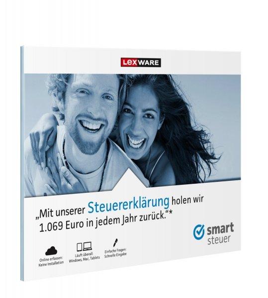 Lexware Smartsteuer 2015 für 9,90€@ Cyberport - Download