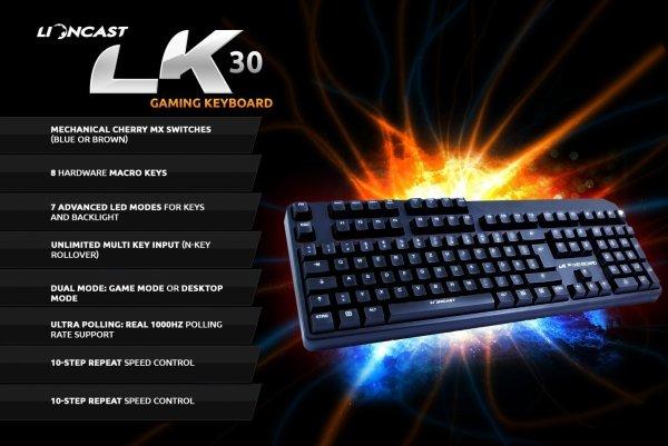 LK30 mechanisches Keyboard für 130€ statt 150€ (Top-Bewertungen) auf Amazon