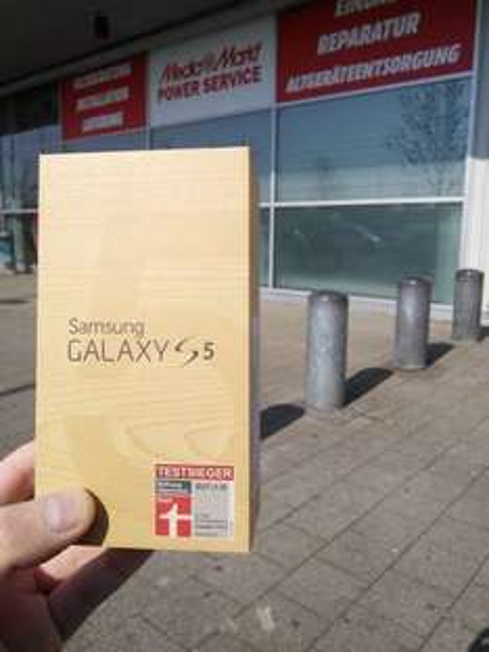[Lokal Ulm] Samsung Galaxy S5 16GB im MediaMarkt