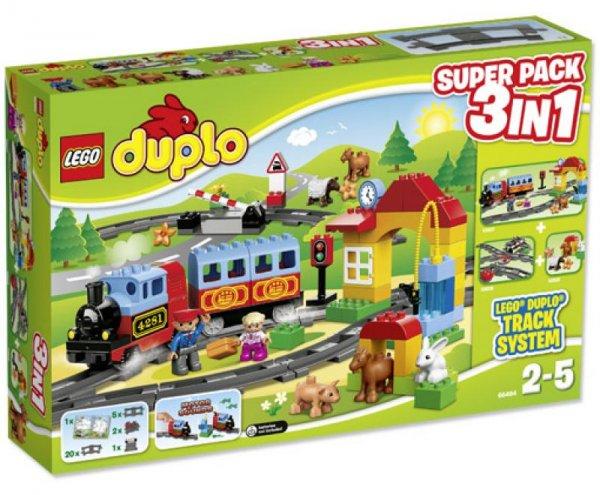 [Interspar AT] - Lego Duplo Eisenbahn Super Pack 3 in 1 für 40 Euro