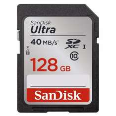 SanDisk SDSDUN-128G-FFP Ultra SDXC 128GB UHS-I Class 10 @Amazon
