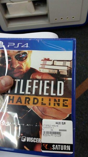 [Saturn Lünen] Nur heute Battlefield Hardline für PS4