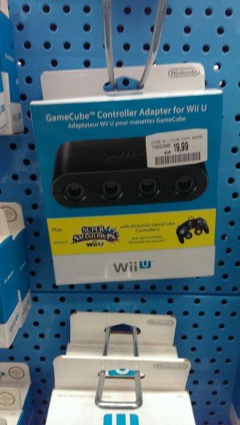 [Lokal] Darmstadt-Weiterstadt Wii U gamecube controller Adapter