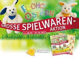 Rossmann Oster Rabatte für Spielwaren