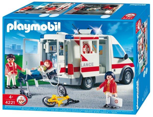 Playmobil™ - Rettungstransporter (4221) für €25.- [@Real.de]
