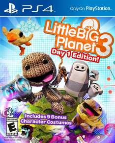 Little Big Planet 3 PS4 (MM Bremen Weserpark) 10€!