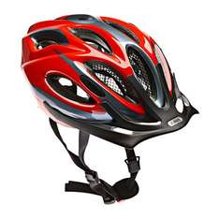 Fahrradhelm Abus Aduro onyx black oder grey red - 32,90 € - Globetrotter