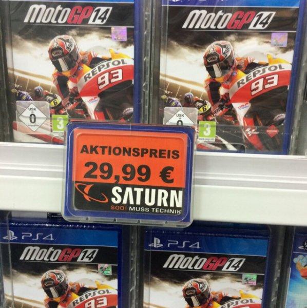 [Lokal Saturn Spandau Arcarden] PS4 Moto GP14