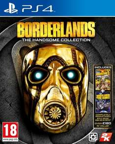 [PS4/One] Borderlands The Handsome Collection | uncut | deutsch - 47,99 + 3,99 VK