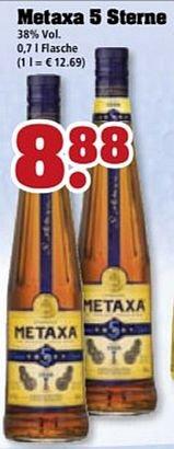 [offline] verschiedene trinkgut Filialen - Metaxa 5 Sterne