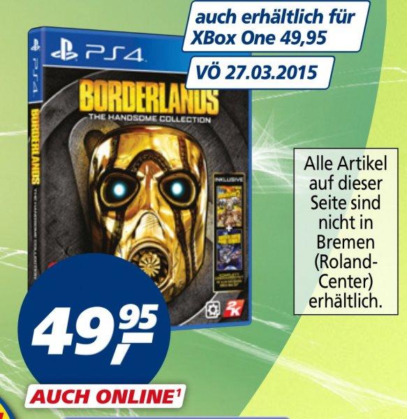 [Real] Borderlands Handsome Collection PS4/Xbox One für 49,95 EUR (44,95 EUR möglich)