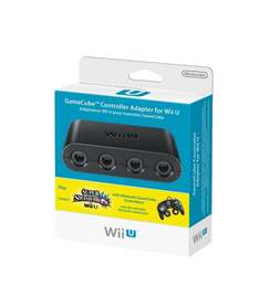 [LOKAL-Tübingen Saturn] Wii U Gamecube Controller Adapter Smash Bros.