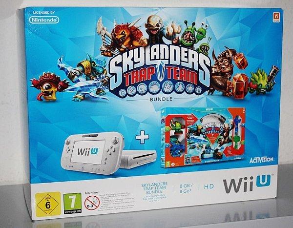 [Mediamarkt Homburg/Saar] Nintendo WiiU 8GB inkl. Skylanders Pack nur 179€