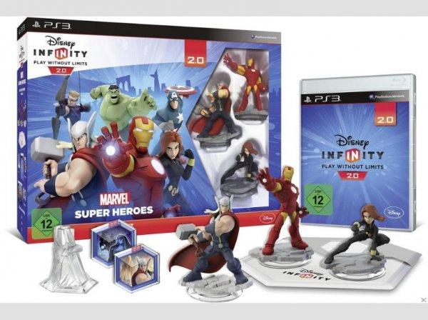 Disney Infinity 2.0 Marvel Super Heroes Starter-Set für 35€ Durch Newsletter anmeldung für 29.99€