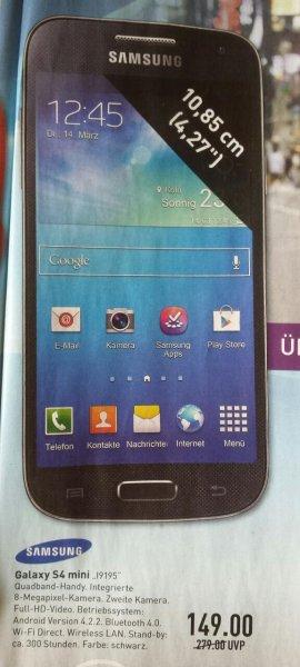 Samsung S4 mini I9195 MARKTKAUF