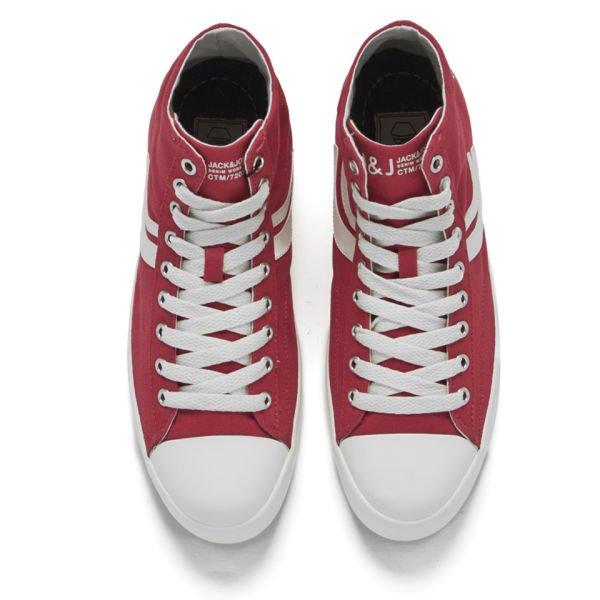 """Jack&Jones™ - Herren Sneaker """"Camden Core"""" (Rot/Weiß) für €10,36 [@Zavvi.com]"""