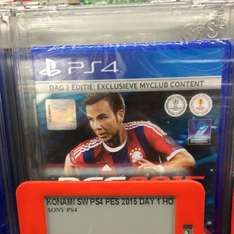 Pro Evolution Soccer 2015 für 29 € bei Media Markt Venlo