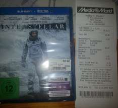 [Lokal] Interstellar BluRay/DVD [MM Bochum Ruhrpark]