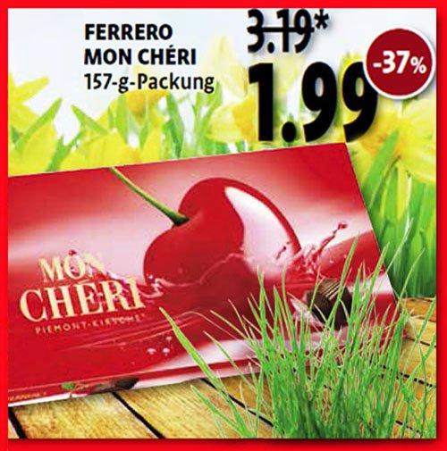 Mon Chéri zum Osterpreis von 1,99 € [Kaiser's/ Real/ Netto Scottie/ REWE/ Penny]