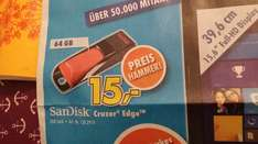 SanDisk Cruzer Edge 64 GB USB Stick@ Euronics
