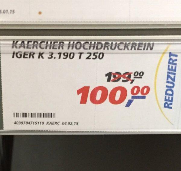 Kärcher Hochdruckreiniger K3.190 T250 (evtl. nur lokal) Real Bielefeld Gütersloher Str.