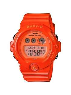 CASIOBaby-G Damen Armbanduhr Digital Quarz Resin