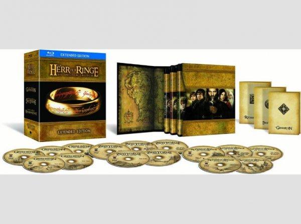[Saturn Super Sunday]Der Herr der Ringe - Extended Edition Trilogie (15 Blu-rays) - (15 Blu-ray) für 39,-€ VSK Frei.Mit Gutschein für 34,-€ Wieder verfügbar...Noch bis 23.59 Uhr