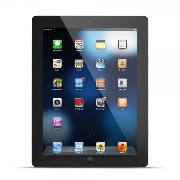 [Favorio refurbished] Apple iPad 4 (Retina) 16GB WiFi schwarz für 262€ *** Apple iPhone 5S 16GB für 342€ *** weitere Apple-Produkte verlinkt