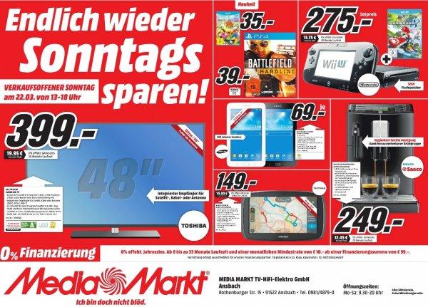 [lokal Ansbach - nur heute] Battlefield Hardline PS4 für 39€ @ Media Markt