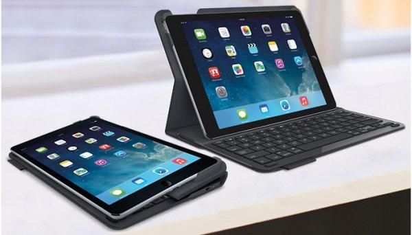 [Logitech] Type+ Schutzcase mit integrierter Tastatur für iPad Air - Deutsch für 69,99€ VSK frei..NUR HEUTE