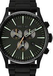 Nixon Sentry Chrono Armbanduhr matte black surplus 194,99€
