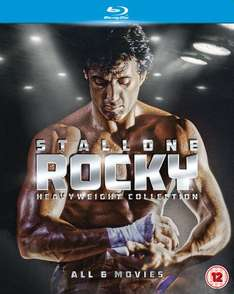 [zavvi.de] Rocky Heavyweight Collection (Teil 1-6) Blu-Ray