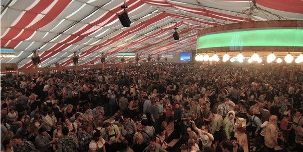 [Frühlingsfest Stuttgart] Tisch-Reservierung für 10 Pers. inkl. 10 Maß und 10 halben Göckele oder Käsespätzle für 99,99€ statt 193€ im Wasenwirt
