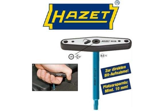 [3% Qipu] HAZET Q-Umschaltknarre-1/4'' 863QB für 14,95€ frei Haus @DC