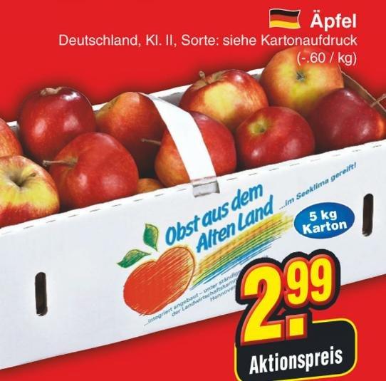 [Bundesweit?]Nur Samstag 28.3.15: 5Kg Deutsche Äpfel (Netto ohne Hund)