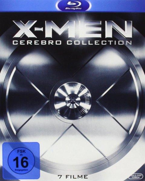 Amazon: X-Men Cerebro Collection [alle Filme, 7 Blu-Rays] für 36,97€