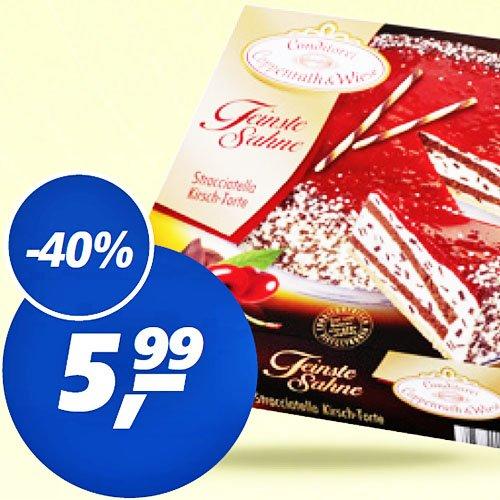 """Zu Ostern """"Feinste Sahne""""-Torte von Coppenrath&Wiese nur 5,99€ bei [REAL]"""