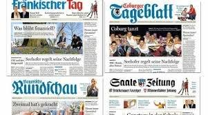 [Franken] Einige regionale Tageszeitungen heute kostenlos als ePaper / PDF