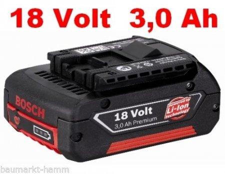 Bosch Professional Original Ersatz-Akku 18V 3Ah ~30% unter Idealo