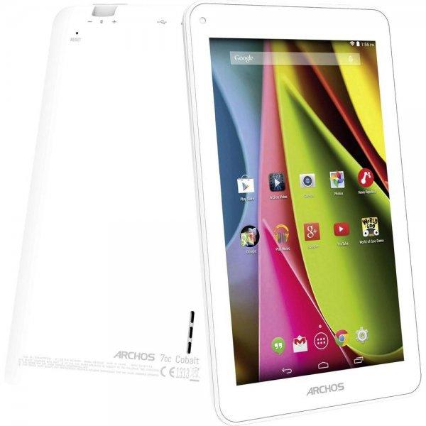 Wieder verfügbar: Archos Cobalt Android-Tablet 17.8 cm (7 Zoll) 8 GB WiFi Weiß 1 GHz Dual Core 33€ @ebay (Conrad B Ware)