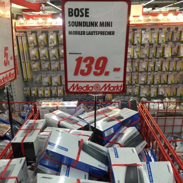 Bose Soundlink Mini bei Media Markt Mühldorf