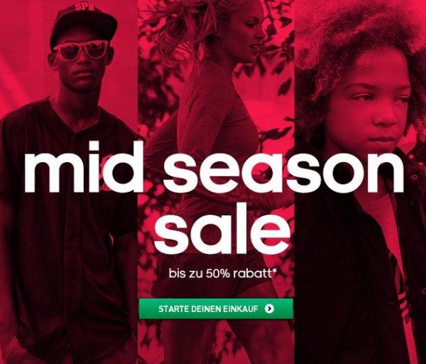 Mid Season Sale bei adidas.de - über 2000 Sachen bis zu 50% reduziert